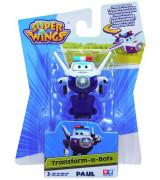 ALPHA SUPER WINGS Transform A Bots! Paul 8 cm Kuju