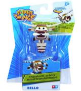 ALPHA SUPER WINGS Transform A Bots! Bello 8 cm Kuju