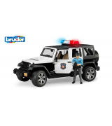 BRUDER Jeep Wrangler politsei+figuur