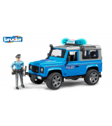 BRUDER Land Roved Defender politseauto