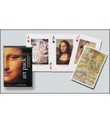 Traditsioonilised mängukaardid, kunsti temaatikaga
