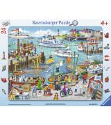 RAVENSBURGER pusle suur lapik Päev sadamas
