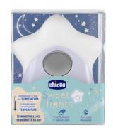 CHICCO Öölamp ja termomeeter (toas kasutamiseks)