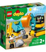LEGO Duplo Veok ja roomikekskavaator 10931