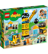 LEGO Duplo Town Lammutuskuuliga lammutamine 10932