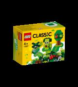 LEGO CLASSIC Rohelised loovmänguklotsid 11007