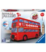 RAVENSBURGER 3D pusle London Bus 216 tk.