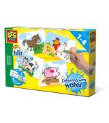 SES Värvimine veega - Farmiloomad