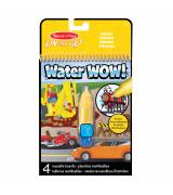 MELISSA & DOUG Water Wow! Vee värvimisraamat - sõidukid
