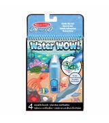 MELISSA & DOUG Water Wow!! Vee värvimisraamat - veealune maailm