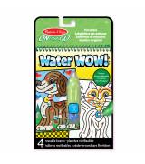 MELISSA & DOUG Water Wow! Vee värvimisraamat- lemmikloomad