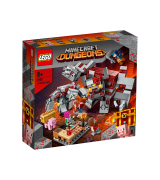 LEGO MINECRAFT Punakivi lahing 21163