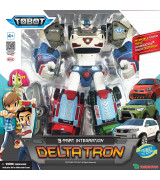 YOUNG TOYS TOBOT Mini Deltatron figuur