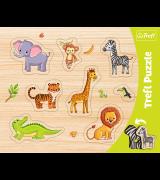 TREFL Pusle figuurne Eksootilised loomad