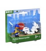 BRIO Politsei mootorrattaga