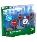 BRIO Liiklusmärgid (5tk)