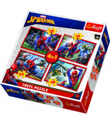 TREFL Pusle komplekt 4TK 35+45+54+70 Spider-Man