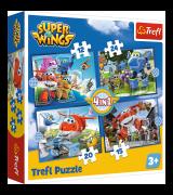 TREFL Puslekomplekt 4in1 Super Wings