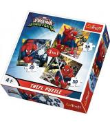 TREFL Pusle komplekt 3tk Spider-Man