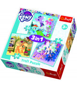 TREFL Pusle komplekt My Little Pony (3 in 1)