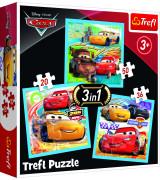 TREFL Pusle komplekt 3tk Cars