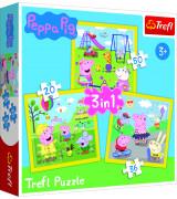 TREFL Pusle komplekt 3tk Peppa Pig