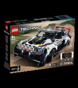 LEGO TECHNIC Rakenduse kaudu juhitav ralliauto Top Gear 42109