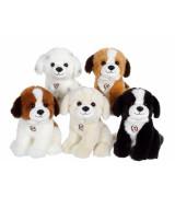 GIPSY TOYS Istuv koer, heliefektidega, 20 cm
