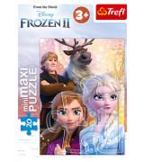 TREFL Mini maxi pusle 20 Frozen 2