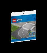 LEGO City Kurv ja ristmik 60237
