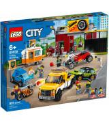 LEGO CITY Tuunimise töökoda 60258