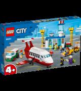 LEGO City Airport Kesklennujaam 60161
