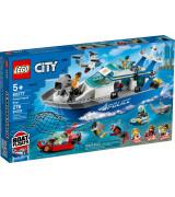 LEGO CITY Politsei patrullpaat 60277