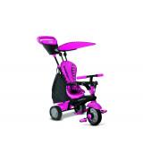 SMARTRIKE Kolmerattaline jalgratas (Glow Pink)