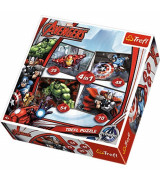 TREFL Pusle komplekt Avengers (4 in 1)