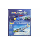 REVELL mudelikomplekt P-51 D Mustang 1:72  (lennuk)
