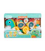 MGA LITTLE TIKES Wooden Critters mänguasi puidust, järelveetav