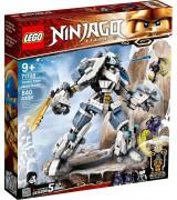 LEGO NINJAGO Zane'i titaanroboti võitlus 71738