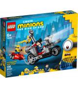 LEGO MINIONS Pidurdamatu tagaajamine rattal 75549