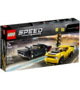 LEGO SPEED CHAMPIONS 2018 Dodge Challenger SRT Demon ja 1970 Dodge Charger R/T 75893