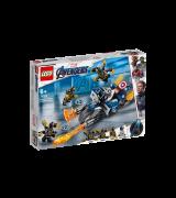LEGO SUPER HEROES Kapten Ameerika: Outriderite rünnak 76123