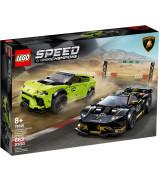LEGO SPEED CHAMPIONS Lamborghini Urus ST-X & Lamborghini Huracán Super Trofeo EVO 76899