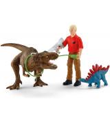 SCHLEICH DINOSAURS Türannosaurus Rexi Rünnak