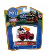 "SILVERLIT POLI ROBOCAR Die cast sõiduk ""Roy"", 5 cm"