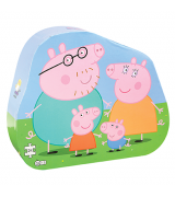 BARBO Peppa Pig perekonna dekoratiivne pusle