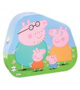 BARBO TOYS Peppa Pig perekonna dekoratiivne pusle