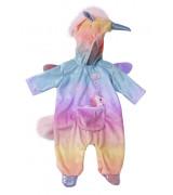 """ZAPF BABY BORN Ükssarviku kostüüm """"Onesie"""" 43 cm nukule"""