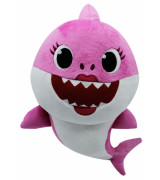 SMART PLAY BABY SHARK Pehme mänguasi Mommy Shark helidega 35 cm
