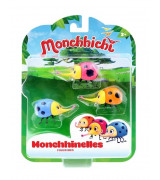 SILVERLIT MONCHHICHI Monchhibugs, 3 tk ,6 cm