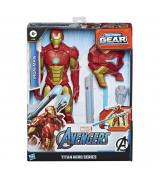 HASBRO AVENGERS Titan Hero Blast Gear Raudmees figuur, 30 cm
